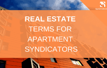 Terms For Real Estate Syndication