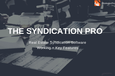Real Estate Syndication Software: SyndicationPro